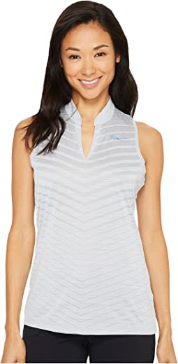 Nike Golf - Precision Holiday Sleeveless Jacquard Polo
