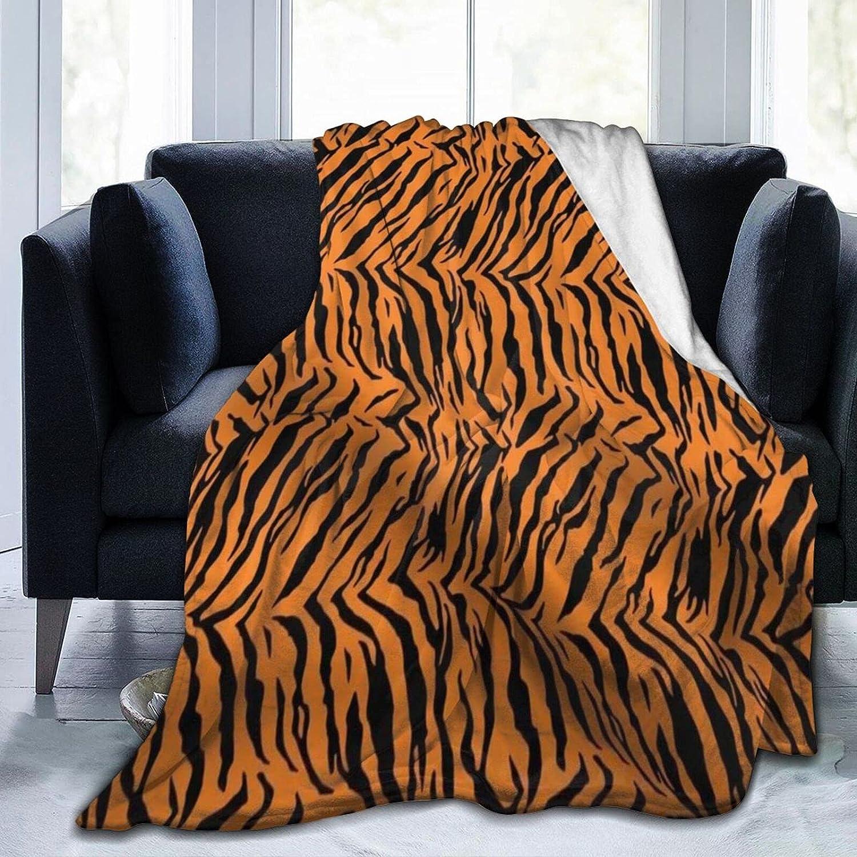 Airfly Tiger Pattern Fleece Spring new work Throw 25% OFF Blanket Adult War Fuzzy Unisex