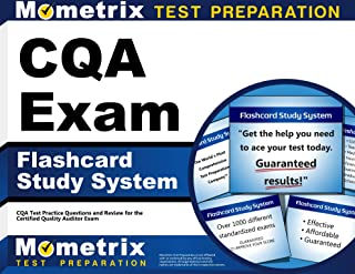 CQA Exam Flashcard Study System: CQA Test Practice Questions and Review for the Certified Quality Auditor Exam (Cards)