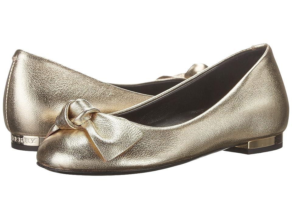 Burberry Kids Bartlett Shoe (Toddler/Little Kid) (Platinum) Girl