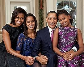 Barack & Michelle Obama - Family 8 x 10 * 8x10 Photo Picture IMAGE #2