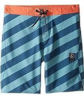 Volcom Kids - Stripey Jammer Boardshorts (Little Kids)
