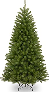 National Tree 7.5-Foot North Valley Spruce Tree, Hinged (NRV7-500-75)