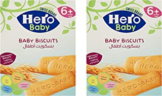 HERO BABY Biscuits, 180g, Pack of 2