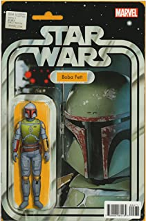 Star Wars 4 Boba Fett Action Figure Variant C2E2 Exclusive