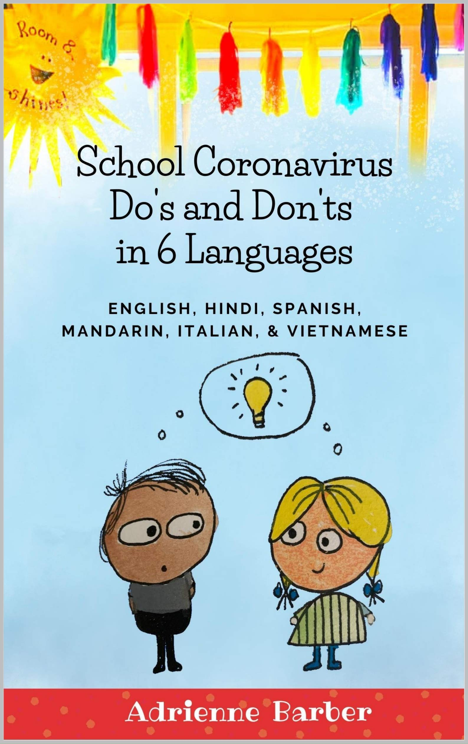 Image OfSchool Coronavirus Do's And Don'ts In 6 Languages: Written In English, Hindi, Spanish, Mandarin Chinese, Italian, And Viet...