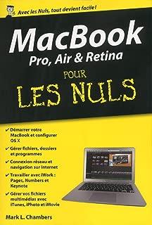MacBook Pro, Air et Retina Pour les Nuls, édition poche (French Edition)