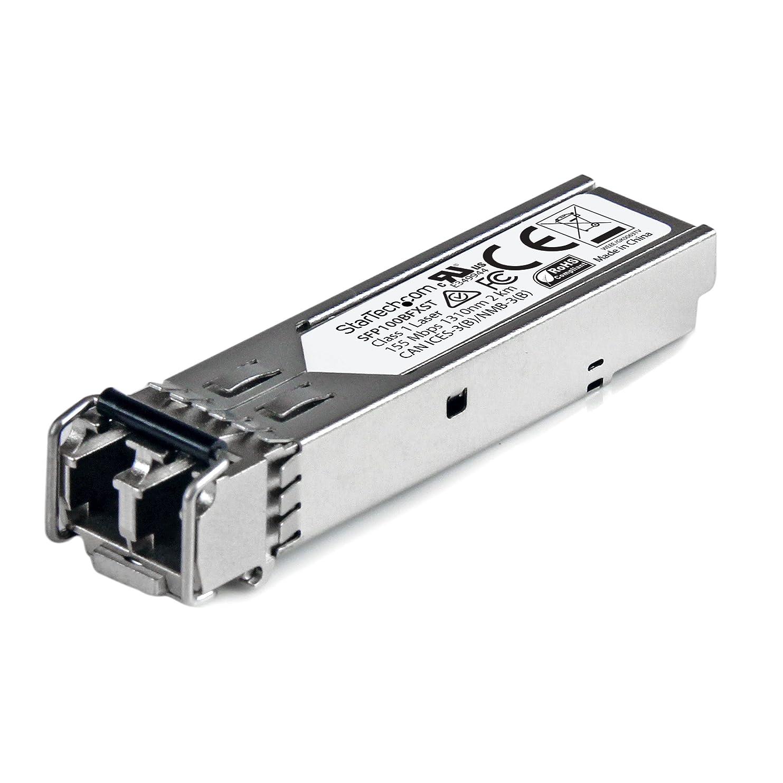 好む不名誉な謙虚なStarTech.com SFPモジュール 100BASE-FX MSA準拠 LCコネクタ 光ファイバトランシーバ ライフタイム保証 100Mbps SFP100BFXST