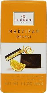 Niederegger Marzipan Classic Bar, Orange, 3.5-Ounce (Pack of 6)