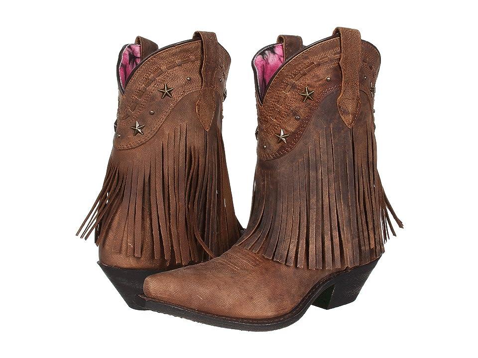 Dingo Hang Low (Brown Distresssed/Crazyhorse Goat) Cowboy Boots