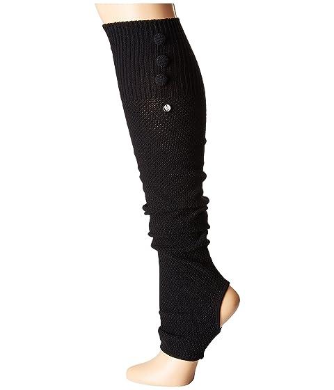 Button Up Toesox Leg Black Open Warmer Heel Rae 1SR7wFxqt