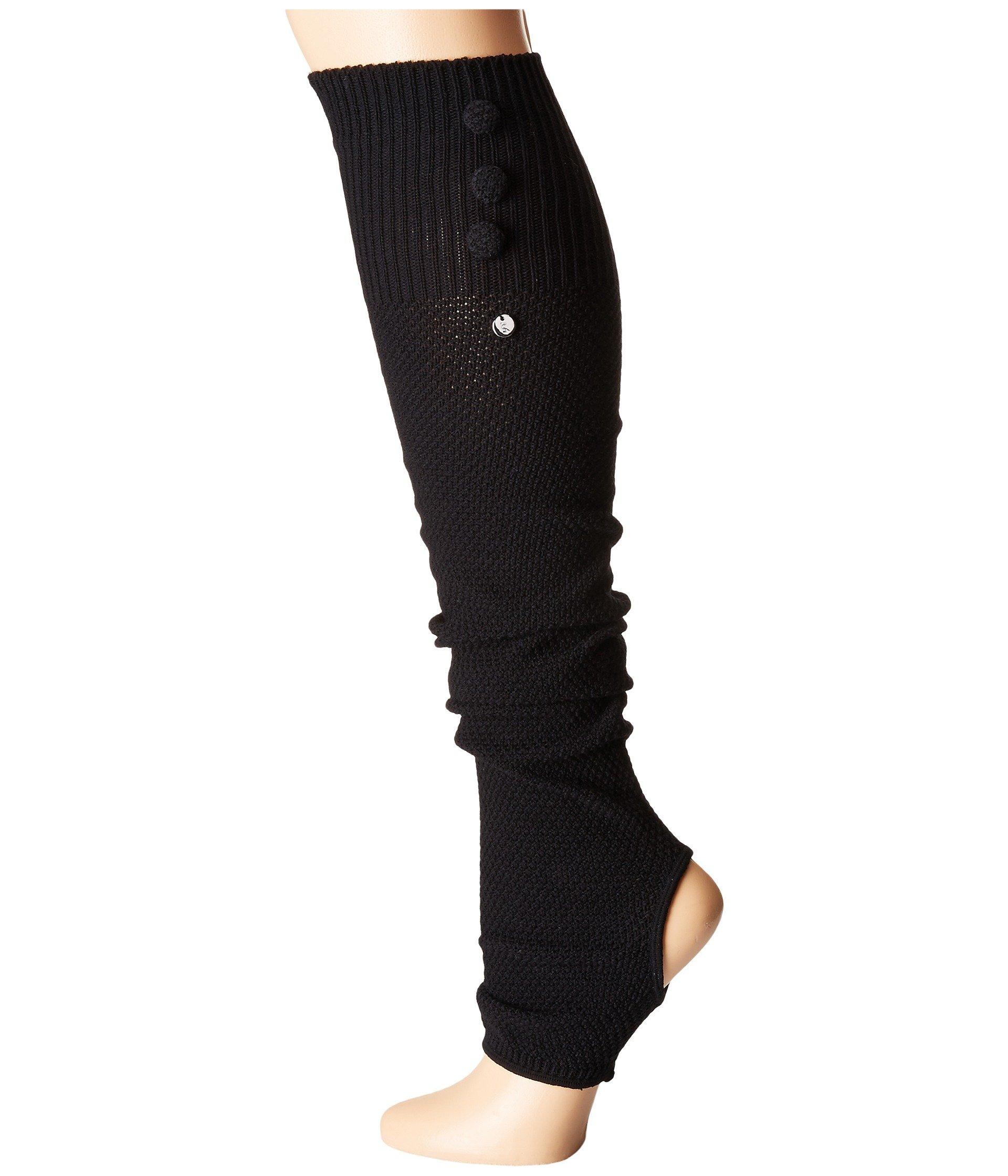 Toesox Rae Leg Warmer Button Up-Open Heel At Zappos.com