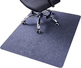 """MAKITESY Computer Chair Mat Rug, Desk Chair Mat for Hardwood Floors for Office Home, 1/6"""" Thick 48""""x36"""" Multi-Purpose Plas..."""