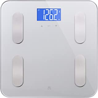 Digital Body Fat Weight Scale by GreaterGoods, (2019 Update) Accurate Health Metrics, Body Composition & Weight Measuremen...