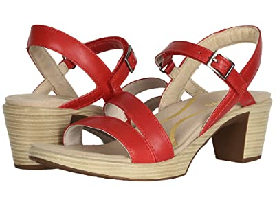 Naot Bounty (Kiss Red Leather) Women