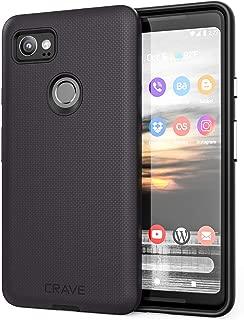 Google Pixel 2 XL Case, Crave Dual Guard Protection Series Case for Google Pixel 2 XL - Black