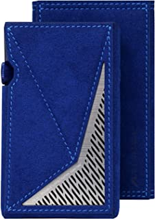 Dignis for Astell&Kern AK SP1000M Alcantara Genuine Leather Case Cover + Top Protective Film + Pouch [Alcantara Series] It...
