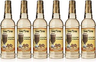 Jordan's Skinny Mixes Coffee Flavoring Syrup Ounce Bottle Pack of, Sugar Free Hazelnut - Jordan's Skinny Syrups, 152.4 Fl ...