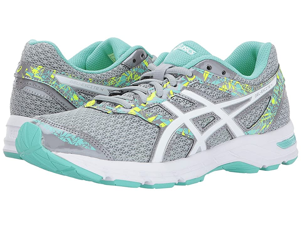 ASICS Gel-Excite(r) 4 (Mid Grey/White/Green) Women