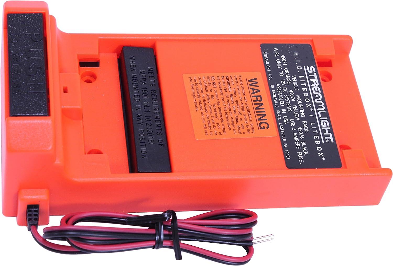 excellence STREAMLIGHT 45071 LiteBox Direct Wire 12Vdc Max 56% OFF Mount Rack Orange
