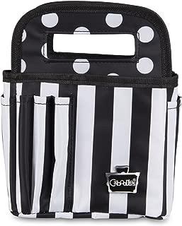 Caboodles Stripes & Dots Cutie Caddy, Black & White