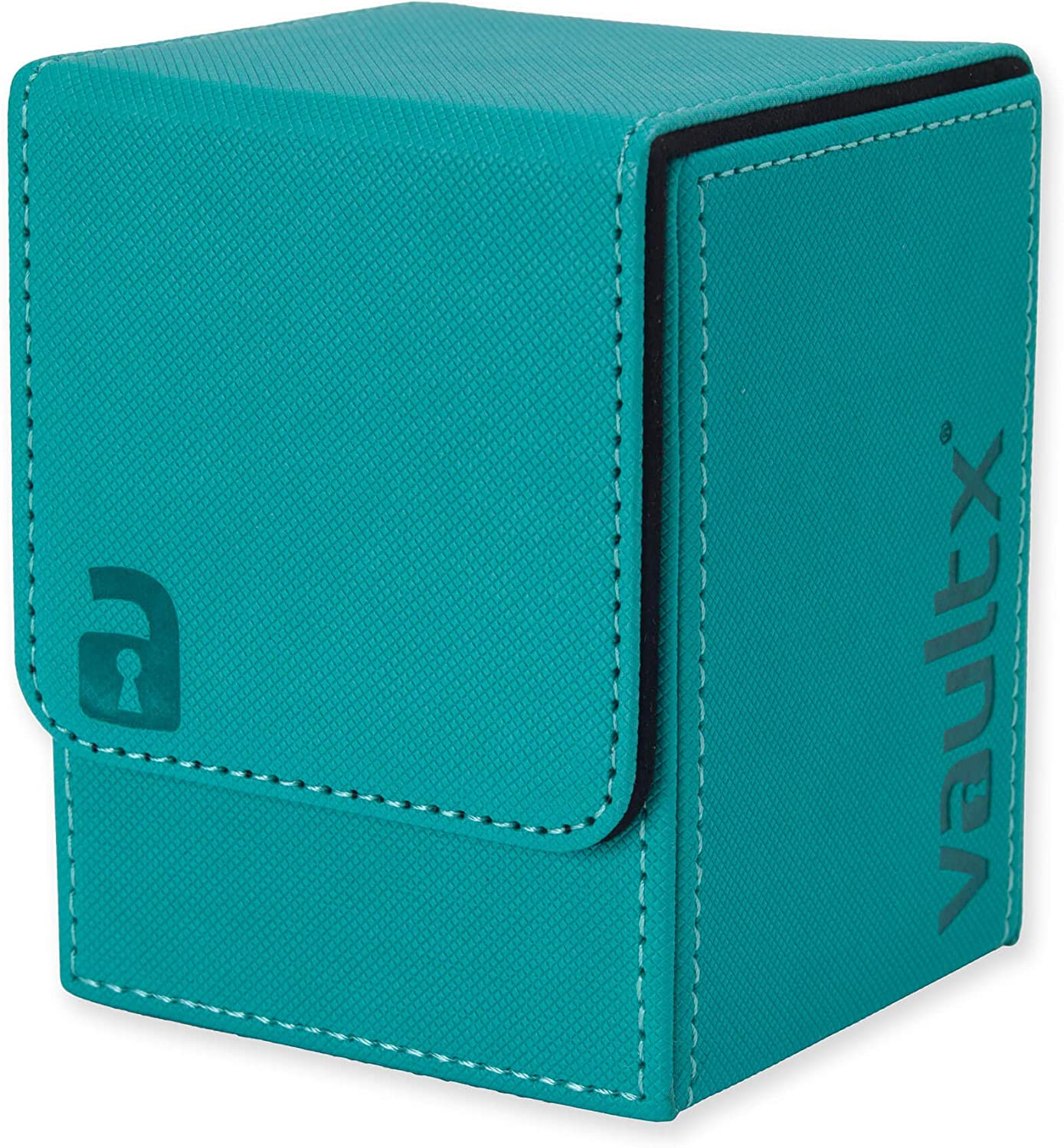 Large Size for 100+ Sleeved Cards Vault X /® Premium eXo-Tec /® Deck Box Blue PVC Free Card Holder for TCG