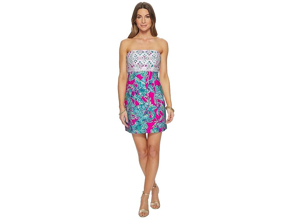 Lilly Pulitzer Brynn Dress (Raz Berry Lobsters in Love) Women