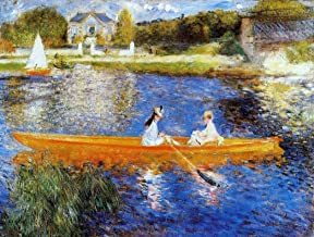 Art Oyster Pierre Auguste Renoir The Seine at Asnieres (also known as The Skiff) - 18.1