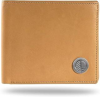 178876baf Drew Lennox Prime Mens Bifold Wallet with Coin Pouch - Cartera para hombre  hombre, Camel