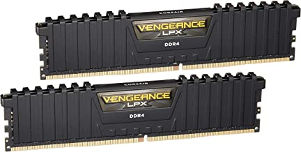 Corsair Vengeance LPX 16GB (2x8GB) DDR4 DRAM 3200MHz C16 Desktop Memory Kit – Black..