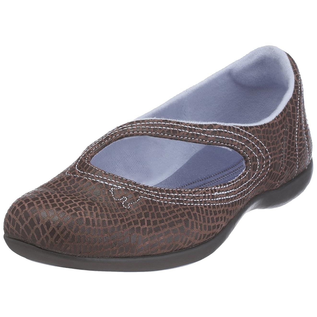 荷物伝導つらい[プーマ] Vitta Lux Womens Leather Ballet Pumps/Shoes - Brown [並行輸入品]