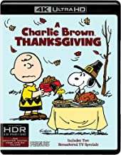 A Charlie Brown Thanksgiving (4K/UHD/BD