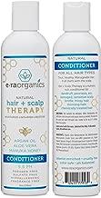 Natural Hair Conditioner For Itchy Scalp - Argan Oil Conditioner for Dry, Itchy Scalp & Dry, Damaged, Frizzy Hair With Manuka Honey, Aloe Vera & More - Sulfate Free, Ph Balanced 8oz Era-Organics