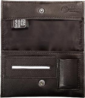 Pellein - Portatabacco in vera pelle Nero Hero - Astuccio porta tabacco, porta filtri, porta cartine e porta accendino. Ha...