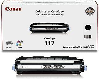 Canon Genuine Toner, Cartridge 117 Black (2578B001), 1 Pack, for Canon Color imageCLASS MF8450c Laser Printer
