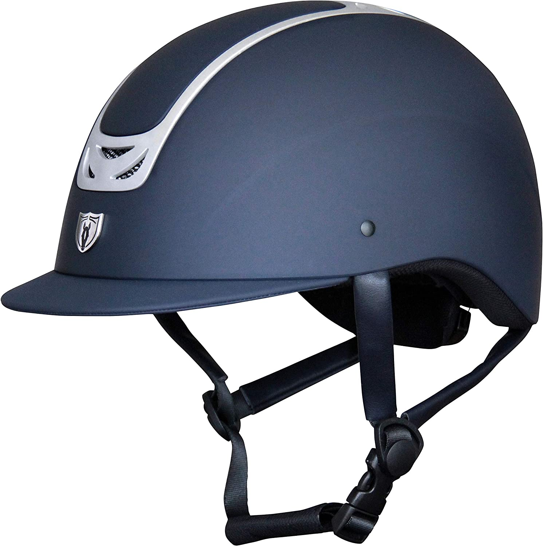 Tipperary Royal English Riding Equestrian Helmet El Paso Mall 5% OFF Matte Horse Blu