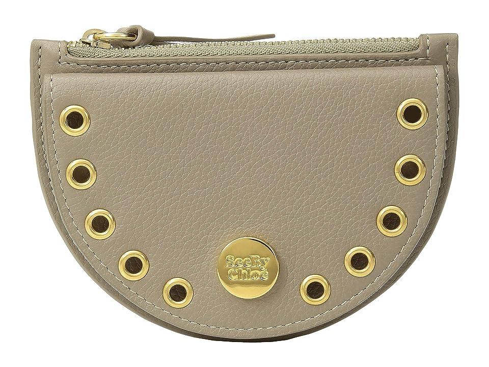 See by Chloe Kriss Mini Coin Purse (Motty Grey) Wallet Handbags