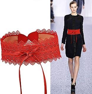0e63722c330f Amazon.es: Cinturon Para Vestido - Rojo