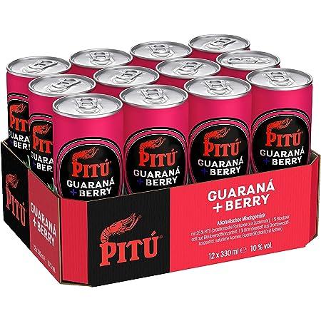 Pitu Guarana Berry 12 X 0 33 L Amazon De Bier Wein Spirituosen