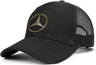 Mens Fashion Baseball Cap Designer Ball Vintage Hat Mercedes-Ben-Original-Logo-Mercedes-Benz- Design Classic Caps