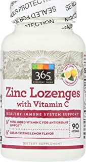 365 Everyday Value, Zinc Lozenge with Vitamin C, 90 ct
