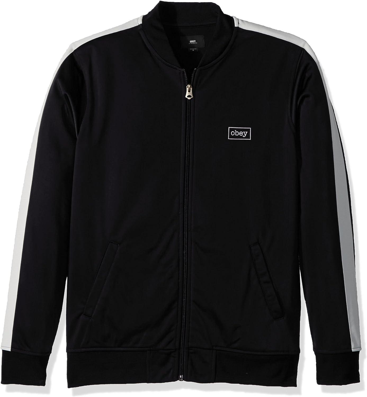 Obey Men's Borstal Max price 62% OFF Jacket Track