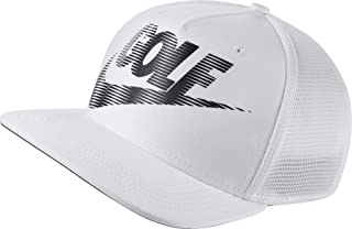 ccc2eb0c4403b7 Nike Youth AeroBill Pro Mesh Golf Hat (White/Black, OneSize)
