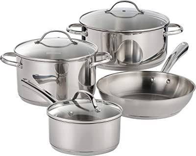 Tramontina 7 Pc Stainless Steel Cookware Set