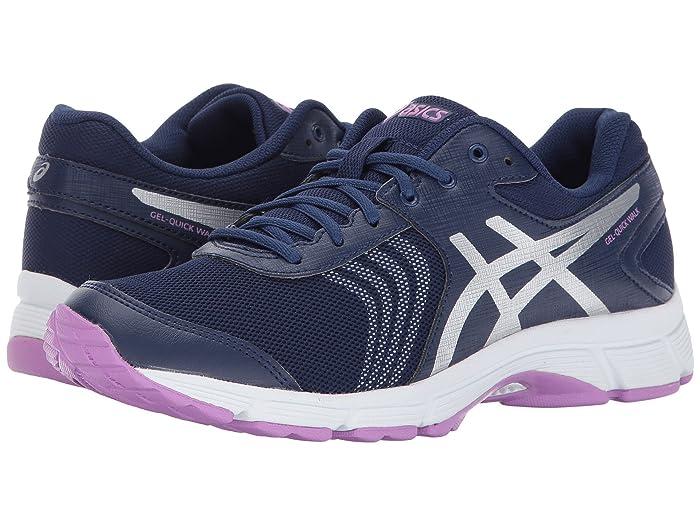 ASICS  Gel-Quickwalk 3 (Indigo Blue/Silver/Violet) Womens Cross Training Shoes