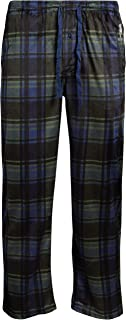 U.S. Polo Assn. Men's Ultra Soft Fleece Plaid Pajama Lounge Pants