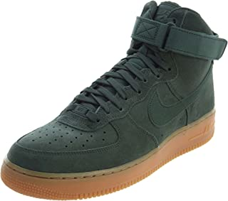 nike air force one suede green