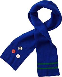 Kidorable Soft Acrylic Knit Scarf, Sports (Blue), One Size Fits Most, for Toddlers, Little Kids, Big Kids
