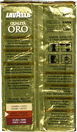 Lavazza Qualita Oro Caffe Ground Coffee (250g)