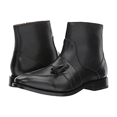 Michael Bastian Gray Label Sidney Tassel Zip Boot (Nero) Men